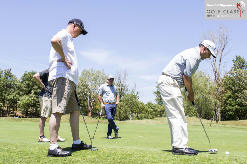 Caldes de Malavella - Girona, Spain, May 18th 2015.  Special Olympics Golf Classic Event celebrated at PGA Catalunya Resort.  Photographs by Toni Vilches for Special Olympics.