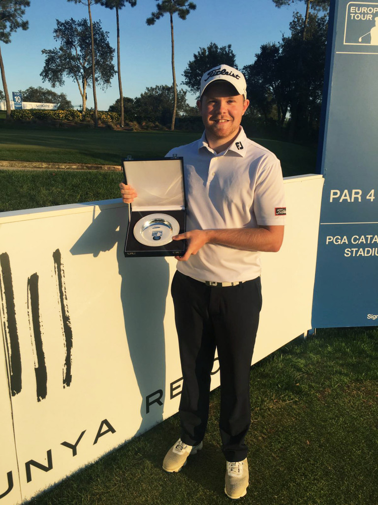 Qualifying School 2016 Winner Nathan Kimsey 2