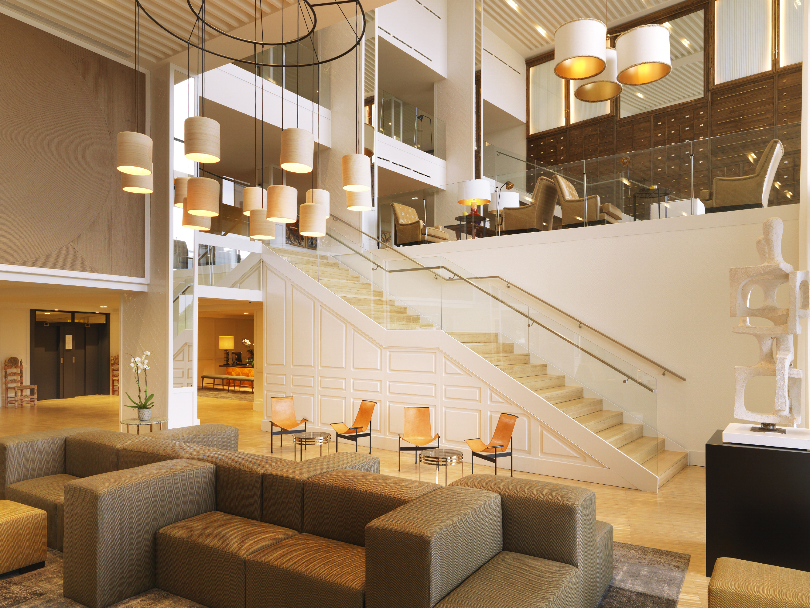 When we decided to renovate the on site hotel to open the new hotel camiral in 2016 we knew we needed a designer who could take on the challenges of the